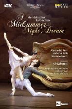 A MIDSUMMER NIGHT & DREAM/ GEORGE BALANCHINE, NIR KABARETTI [멘델스존: 한여름 밤의 꿈]