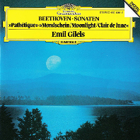 PIANO SONATAS NO.8, 13, 14/ EMIL GILES [베토벤: 피아노 소나타 - 에밀 길렐스]