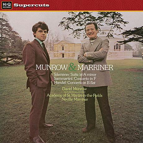 SUITE, CONCERTOS/ DAVID MUNROW, NEVILLE MARRINER [LP]