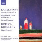 PIANO CONCERTOS NO.3/ DMITRY YABLONSKY