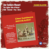 DER HEITERE MOZART: THE LIGHTER SIDE OF MOZART/ ERIKA KOTH, HERMANN PREY [COLOGNE COLLECTION] [유쾌한 모차르트]