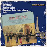 PARISER LEBEN/ WILLY MATTES [COLOGNE COLLECTION] [오펜바흐: 파리인의 삶]