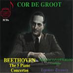 THE 5 PIANO CONCERTOS/ COR DE GROOT/ WILLEM VAN OTTERLOO