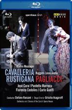 CAVALLERIA RUSTICANA & PAGLIACCI/ JOSE CURA, STEFANO RANZANI [블루레이 전용플레이어 사용]