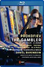 THE GAMBLER/ DANIEL BARENBOIM [프로코피에프: 도박사]