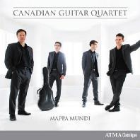 MAPPA MUNDI/ CANADIAN GUITAR QUARTET [기타 4중주로 연주하는 비발디와 현대작품 - 캐나디언 기타 콰르텟]