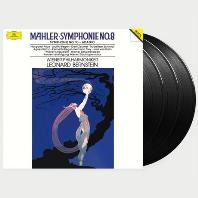 SYMPHONY NO 8 & 10/ LEONARD BERNSTEIN [말러: 교향곡 8 & 10번 <아다지오> - 번스타인] [한정반] [ANALOGPHONIC 180G LP]