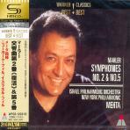 SYMPHONIES NOS.2 & 5/ ZUBIN MEHTA [SHM-CD]