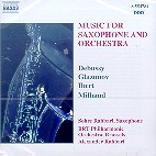 MUSIC FOR SAXOPHONE & ORCEHSTRA