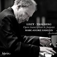 OPERA TRANSCRIPTIONS & FANTASIES/ MARC-ANDRE HAMELIN [리스트 & 탈베르크: 오페라 트랜스크립션 & 환상곡 - 아믈랭]