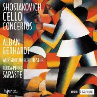 CELLO CONCERTOS/ ALBAN GERHARDT, JUKKA-PEKKA SARASTE [쇼스타코비치: 첼로 협주곡 1 & 2번 - 알반 게르하르트]