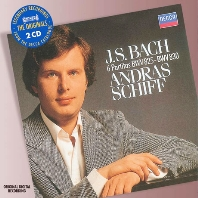 6 PARTITAS BWV 825-830/ ANDRAS SCHIFF [THE ORIGINALS]