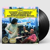 CELLO CONCERTO NO.2 & CHANT DU MENESTREL/ MSTISLAV ROSTROPOVICH, SEIJI OZAWA [LP] [쇼스타코비치 & 글라주노프: 첼로협주곡, 음유시인의 노래]