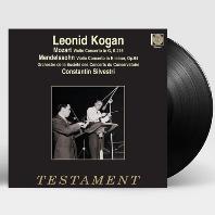 MOZART & MENDELSSOHN: VIOLIN CONCERTOS/ CONSTANTIN SILVESTRI [모차르트 & 멘델스존: 바이올린 협주곡 - 레오니드 코간] [LP]