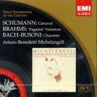CHACONNE ETC/ ARTURO BENEDETTI MICHELANGELI [GREAT RECORDINGS OF THE CENTURY]