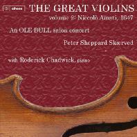 THE GREAT VIOLINS VOL.2 - NICCOLO AMATI 1647/ PETER SHEPPARD SKAERVED [아마티(1647년 제작)로 재현된 올레 본의 살롱 콘서트]