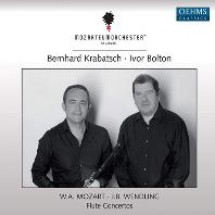 FLUTE CONCERTOS/ BERNHARD KRABATSCH, IVOR BOLTON [모차르트 & 벤들링: 플루트 협주곡 - 크라바치, 아이버 볼튼]