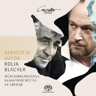 VIOLIN CONCERTOS & SERENADE/ KOLJA BLACHER [SACD HYBRID] [하이든: 바이올린 협주곡 & 번스타인: 플라톤의 <심포지움>에 의한 세레나데 - 콜리아 블라허]