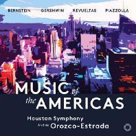 MUSIC OF THE AMERICAS/ ANDRES OROZCO-ESTRADA [SACD HYBRID] [뮤직 오브 아메리카: 번스타인, 피아졸라, 거쉰 외]