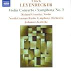 VIOLIN CONCERTO/ SYMPHONY NO.3/ JOHANNES KALITZKE