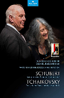 SYMPHONY NO.8 & PIANO CONCERTO NO.1/ MARTHA ARGERICH/DANIEL BARENBOIM [슈베르트: 교향곡 8번 미완성 & 차이코프스키: 피아노 협주곡 1번 - 아르헤리치, 바렌보임]
