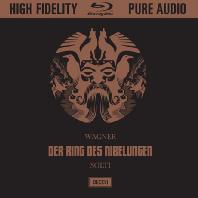 DER RING DES NIBELUNGEN/ GEORG SOLTI [HARD-BACK EDITION] [HFPA BLU-RAY AUDIO] [바그너: 니벨룽겐의 반지 - 게오르그 솔티]