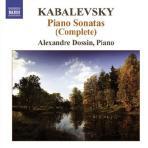 PIANO SONATAS/ ALEXANDRE DOSSIN