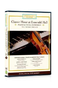 임페리얼 골드 클래식 9: 피아노 & 비올라 앙상블 - 에메랄드 홀 공연 [CLASSIC HOUR AT EMERAL HALL: PIANO & VIOLA ENSEMBLE]