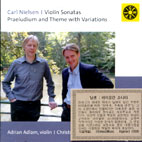 PRAELUDIUM AND THEME WITH VARIATIONS FOR SOLO VIOLIN OP.48/ ADRIAN ADLAM, CHRISTOPHER OAKDEN