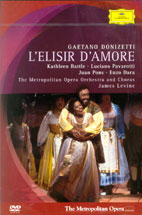 L`ELISIR D`AMORE/ JAMES LEVINE