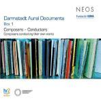 DARMSTADT AURAL DOCUMENTS BOX 1: COMPOSERS CONDUCTORS [다름슈타트 실황: 작곡가의 지휘녹음]