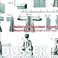 MADAME ET MONSIEUR DUSSEK: HARP WORKS VOL.1/ MASUMI NAGASAWA