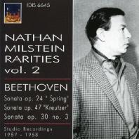 RARITIES VOL.2/ NATHAN MILSTEIN, RUDOLF FIRKUSNY, ARTUR BALSAM