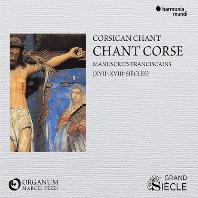 CHANT CORSE: MANUSCRITS FRANCISCAINS/ MARCEL PERES [코르시카의 성가: 프란체스코회의 필사본 - 앙상블 오르가눔, 마르셀 페레스]