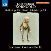 SUITE OP.23, PIANO QUINTET OP.15/ SPCTRUM CONCERTS BERLIN [코른골트: 피아노 오중주, 모음곡 - 스펙트럼 콘서츠 베를린]