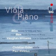 ENGLISH MUSIC FOR VIOLA AND PIANO/ CHRISTIAN EULER, PAUL RIVINIUS [SACD HYBRID] [블리스, 백스, 윌리엄스: 비올라 소나타 - 크리스티안 오일러]