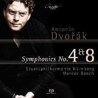 SYMPHONIES 4 & 8/ MARCUS BOSCH [SACD HYBRID] [드보르작: 교향곡 4, 8번]
