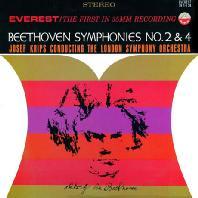 SYMPHONIES NO.2 & 4/ JOSEF KRIPS [SACD HYBRID] [EVEREST] [베토벤: 교향곡 2 & 4번]