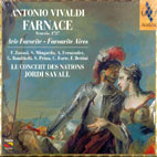 FARNACE/ ARIE FAVORITE - FAVOURITE AIRES/ JORDI SAVALL