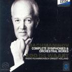 COMPLETE SYMPHONIES & ORCHESTRAL WORKS/ EDO DE WAART [SACD HYBRID]