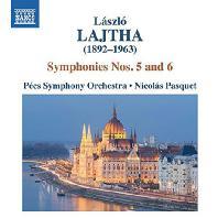 SYMPHONIES NOS.5 & 6/ NICOLAS PASQUET [라이타: 관현악 작품 4집 - 교향곡 5, 6번]