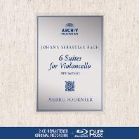 6 SUITS FOR VIOLONCELLO/ PIERRE FOURNIER [2CD+BDA] [바흐: 무반주 첼로 모음곡 전곡 - 피에르 푸르니에] [디지팩 한정반]