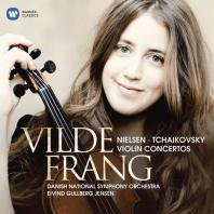 TCHAIKOVSKY & NIELSEN VIOLIN COCNERTOS/ EIVIND GULLBERG JENSEN [빌데 프랑: 차이코프스키 & 닐센: 바이올린 협주곡]