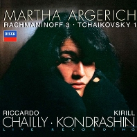 RACHMANINOV & TCHAIKOVSKY: PIANO CONCERTOS/ RICCARDO CHAILLY, KIRILL KONDRASHIN [라흐마니노프 & 차이코프스키: 피아노 협주곡 - 마르타 아르헤리치]