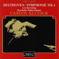 SYMPHONY NO.4/ CARLOS KLEIBER [베토벤: 교향곡 4번 - 클라이버]