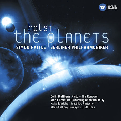 THE PLANETS, ASTEROIDS/ SIMON RATTLE