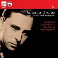 PIANO CONCERTO AND PIANO QUINTETS/ RUDOLF FIRKUSNY, RIDGE STRING QUARTET