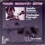 SONATAS FOR CELLO AND PIANO/ NATALIA GUTMAN