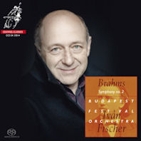 SYMPHONY NO.2 & OVERTURES/ IVAN FISCHER [SACD HYBRID] [브람스: 교향곡 2번 & 서곡]