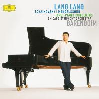 FIRST PIANO CONCERTOS/ LANG LANG, DANIEL BARENBOIM [차이코프스키 & 멘델스존: 피아노 협주곡 1번 - 랑랑, 바렌보임]